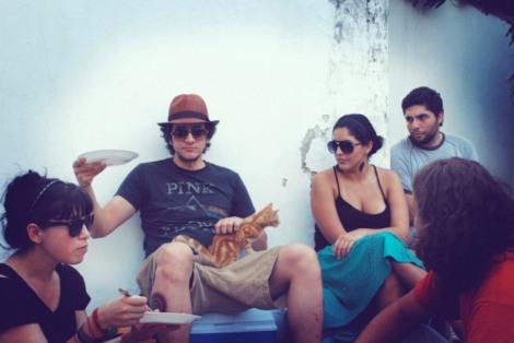 sandi, daniel, el gato, gabriela & sergio.