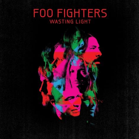 """Wasting Lights"" Foo Fighters (portada)"